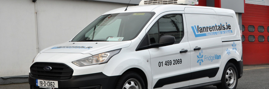Small Refrigerated Van hire in Dubllin