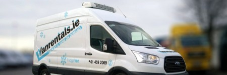 Our new range of short term refrigerated hire vans are here!