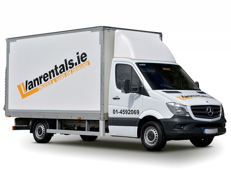 rental truck for house move Dublin